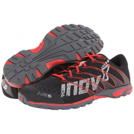 Кроссовки Inov-8 F-lite 195, Black - Red